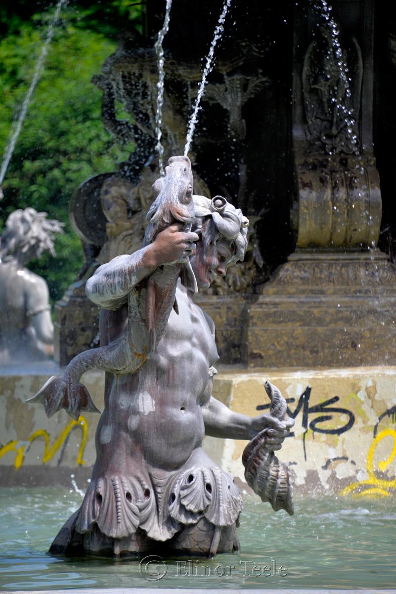 Fountain, Stadtpark, Graz, Austria
