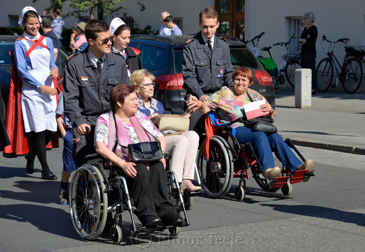 Friendship, Corpus Christi Procession, Graz, Austria