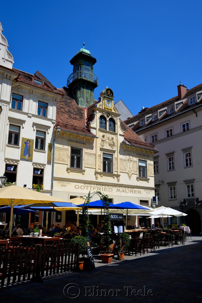 Glockenspielplatz, Graz, Austria