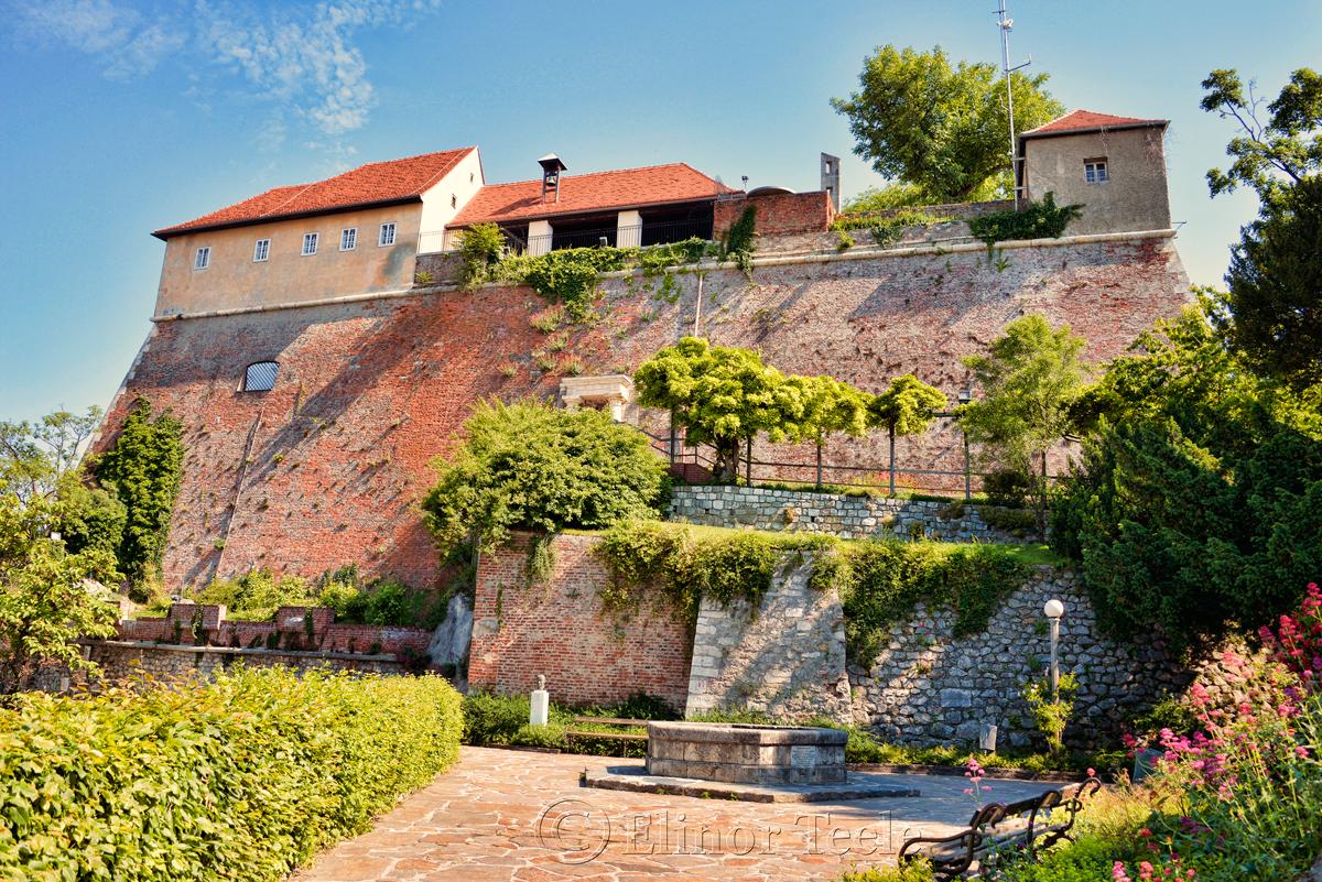 Turkish Well & Stable Bastion, Schlossberg, Graz, Austria