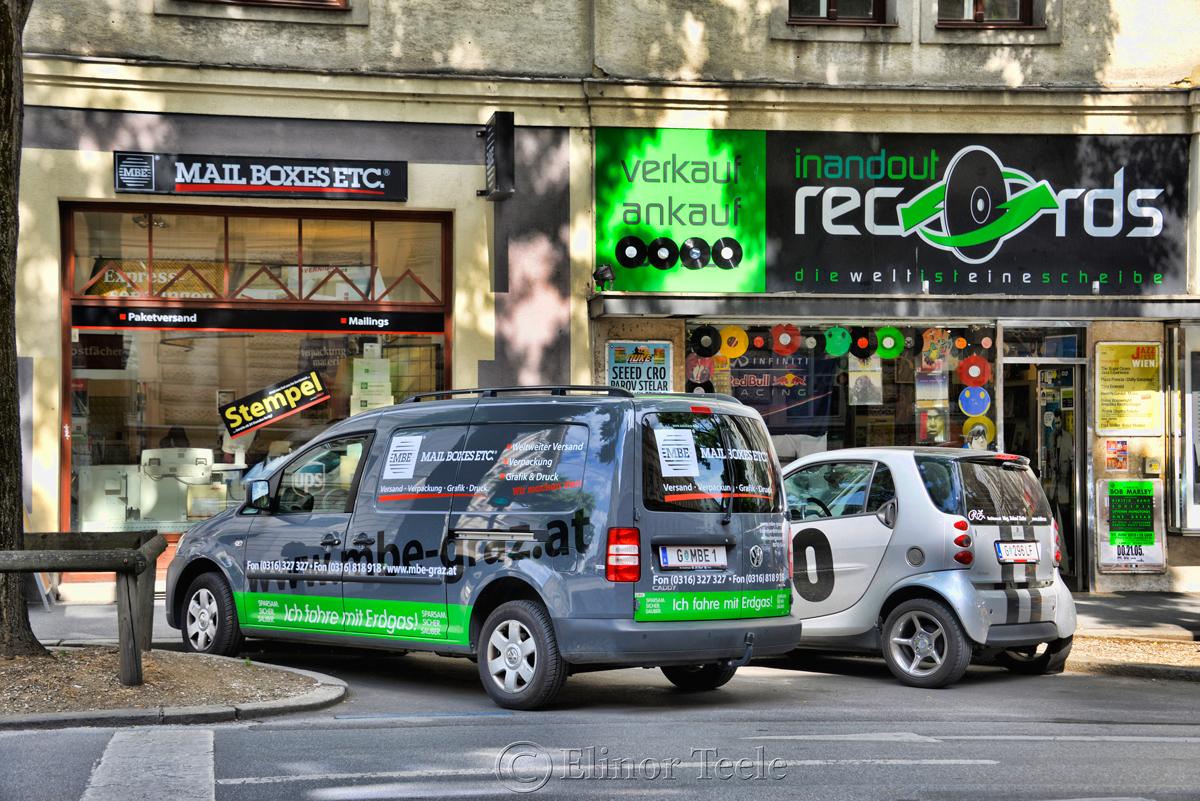 Green Street Scene, Graz, Austria
