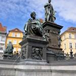Archduke Johann Fountain, Hauptplatz, Graz, Austria 1