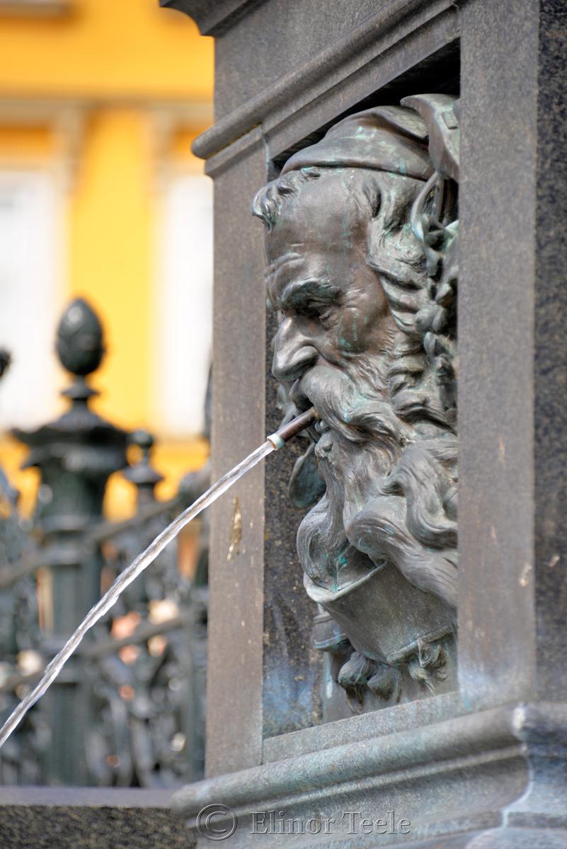 Archduke Johann Fountain, Hauptplatz, Graz, Austria 3