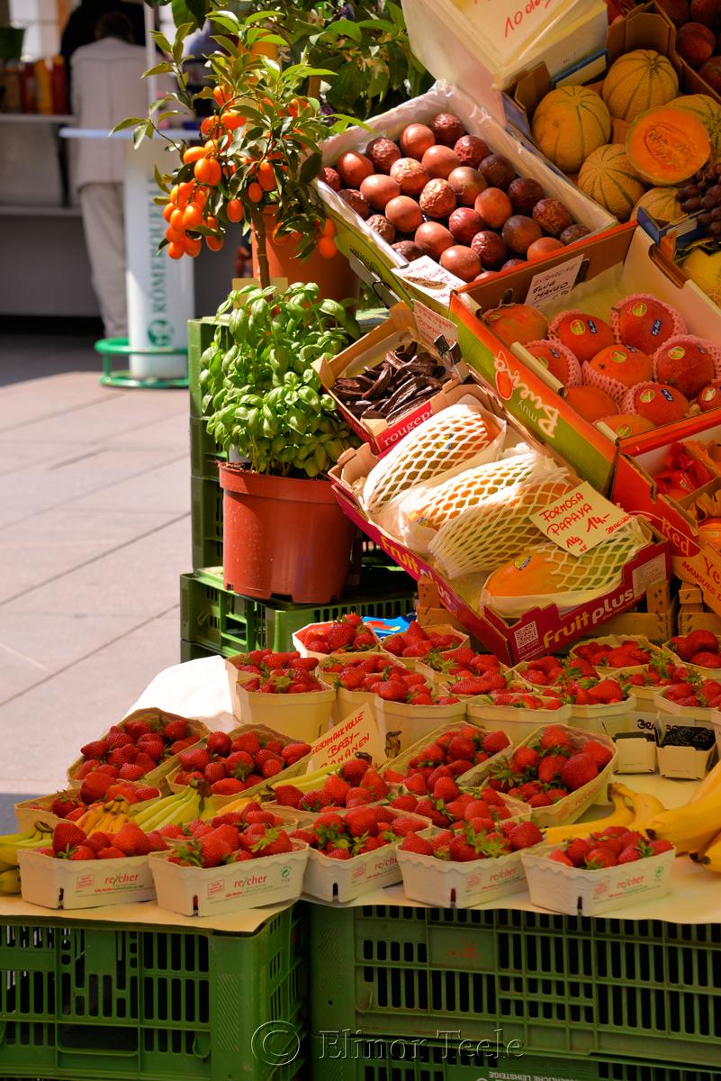 Hauptplatz Market, Graz, Austria
