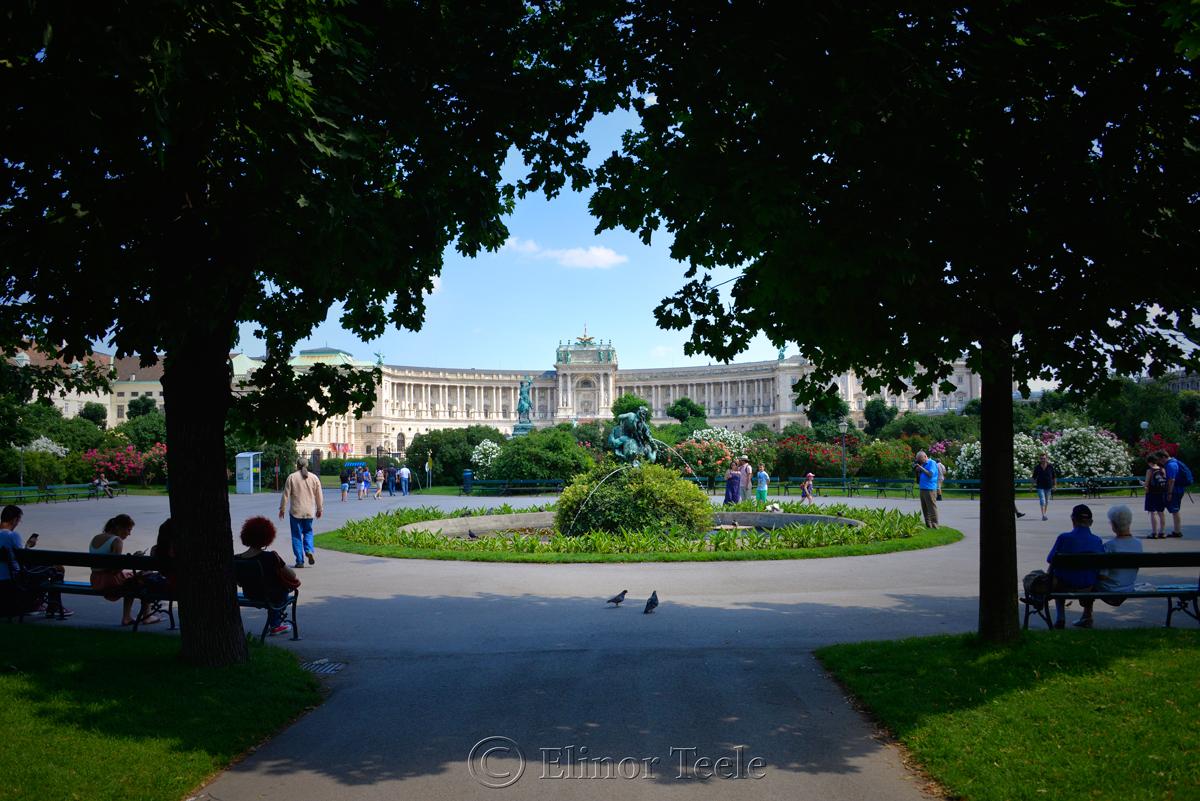 Hofburg & Gardens, Vienna, Austria