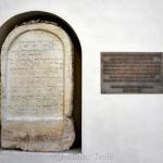 Der Juedische Grabstein in der Burg, Graz, Austria