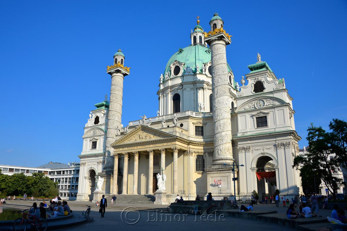Karlskirche, Vienna, Austria 1