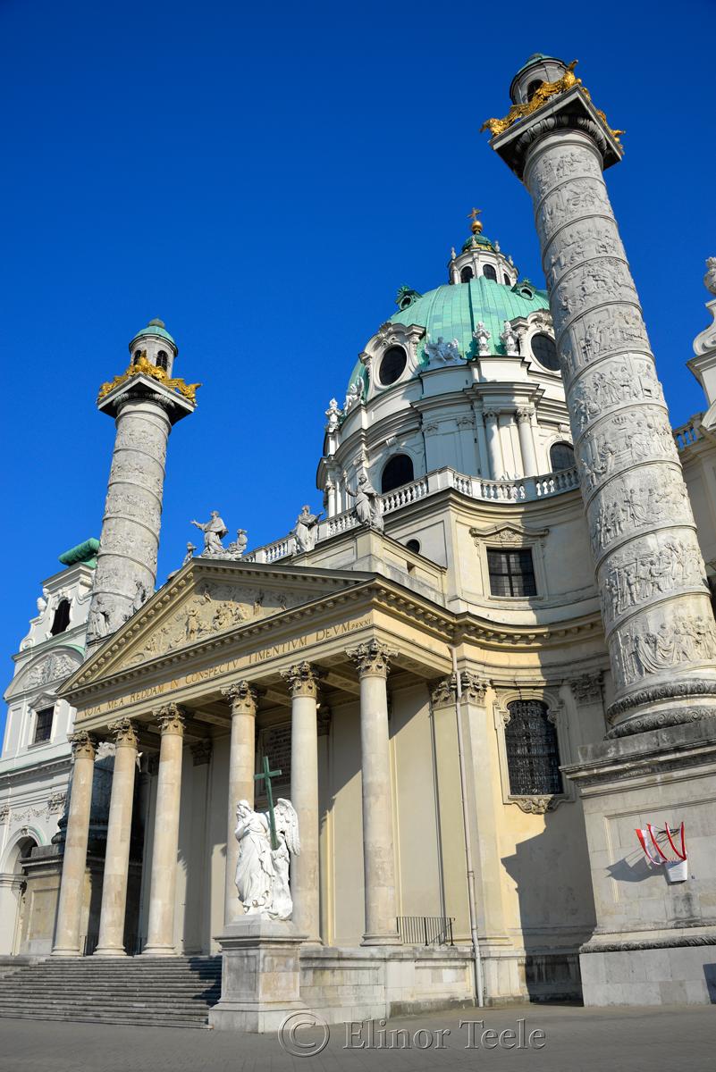 Karlskirche, Vienna, Austria 2