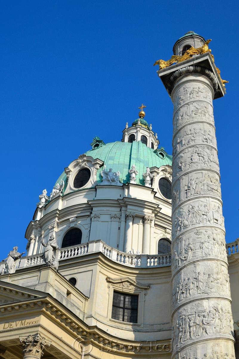 Karlskirche, Vienna, Austria 3