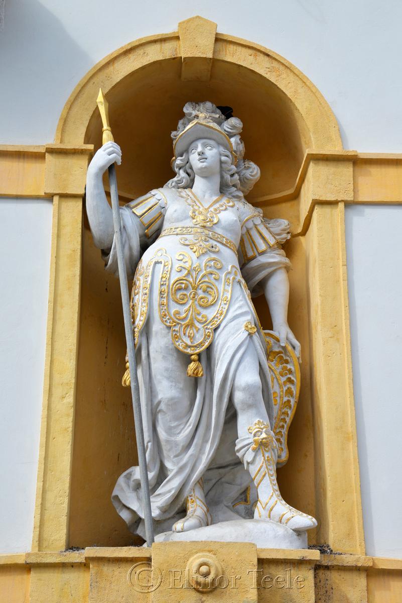 Minerva, Landeszeughaus, Graz, Austria