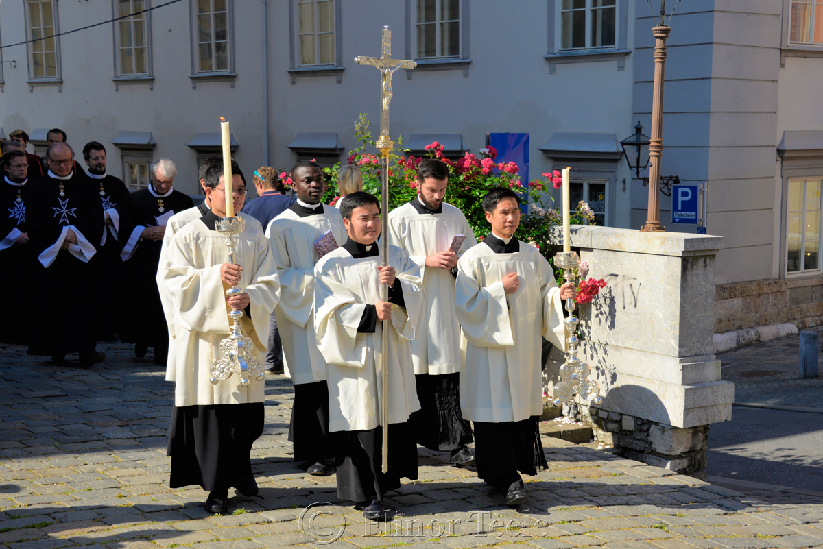 Leading the Way, Corpus Christi Procession, Graz, Austria