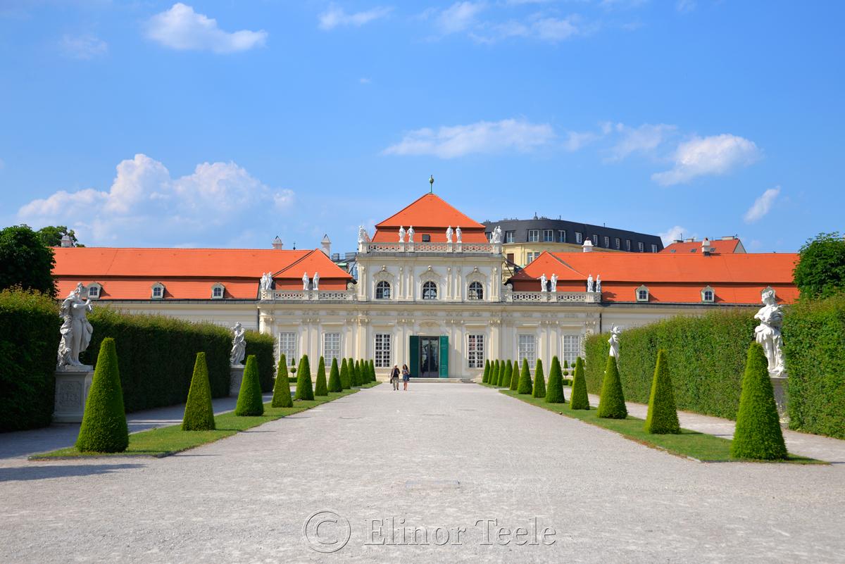 Lower Belvedere, Vienna, Austria