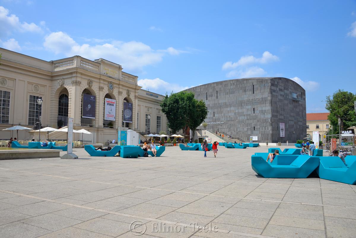 Museumsquartier, Vienna, Austria
