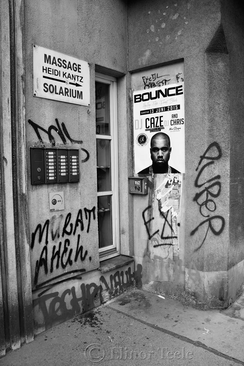 Street Corner, Neustiftgasse, Vienna, Austria