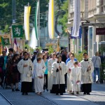 On the Herrengasse, Corpus Christi Procession, Graz, Austria