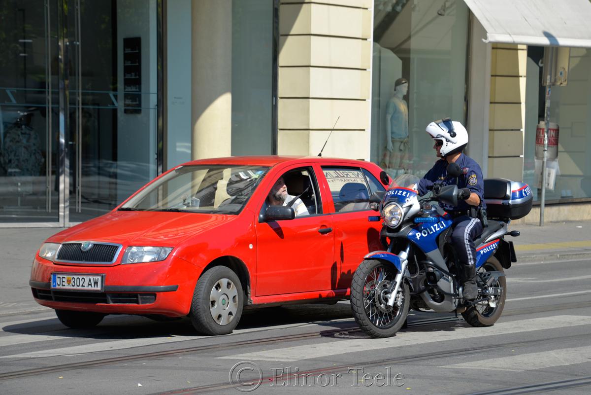 Police, Herrengasse Graz, Austria