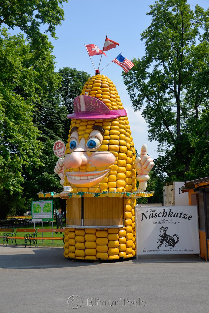 Rathauspark, Vienna, Austria