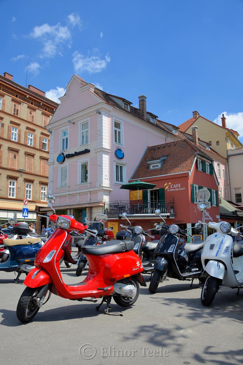 Red Scooter, Graz, Austria