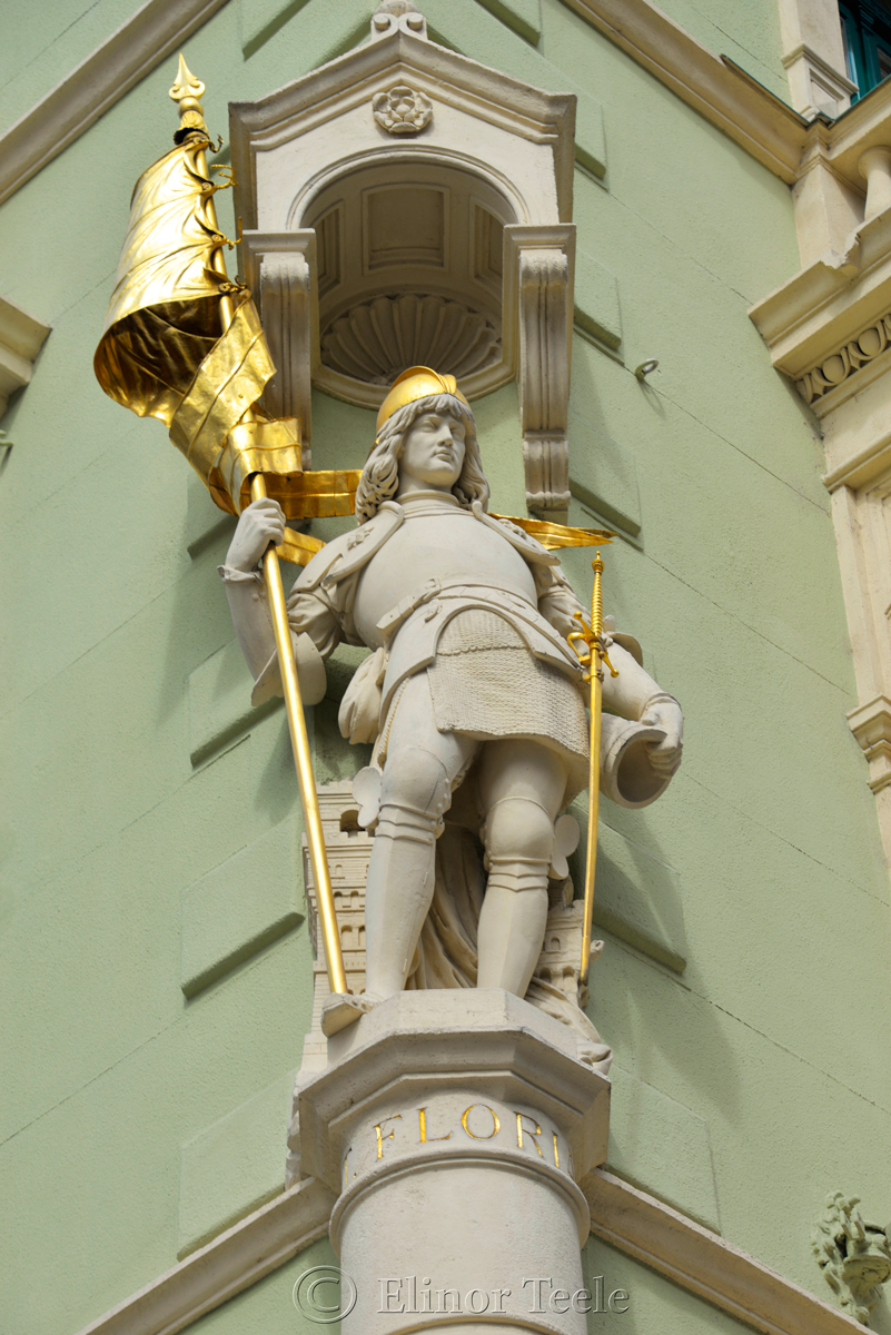 Saint Florian, Herrengasse, Graz, Austria