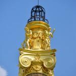 Golden Column, Parliament, Vienna, Austria