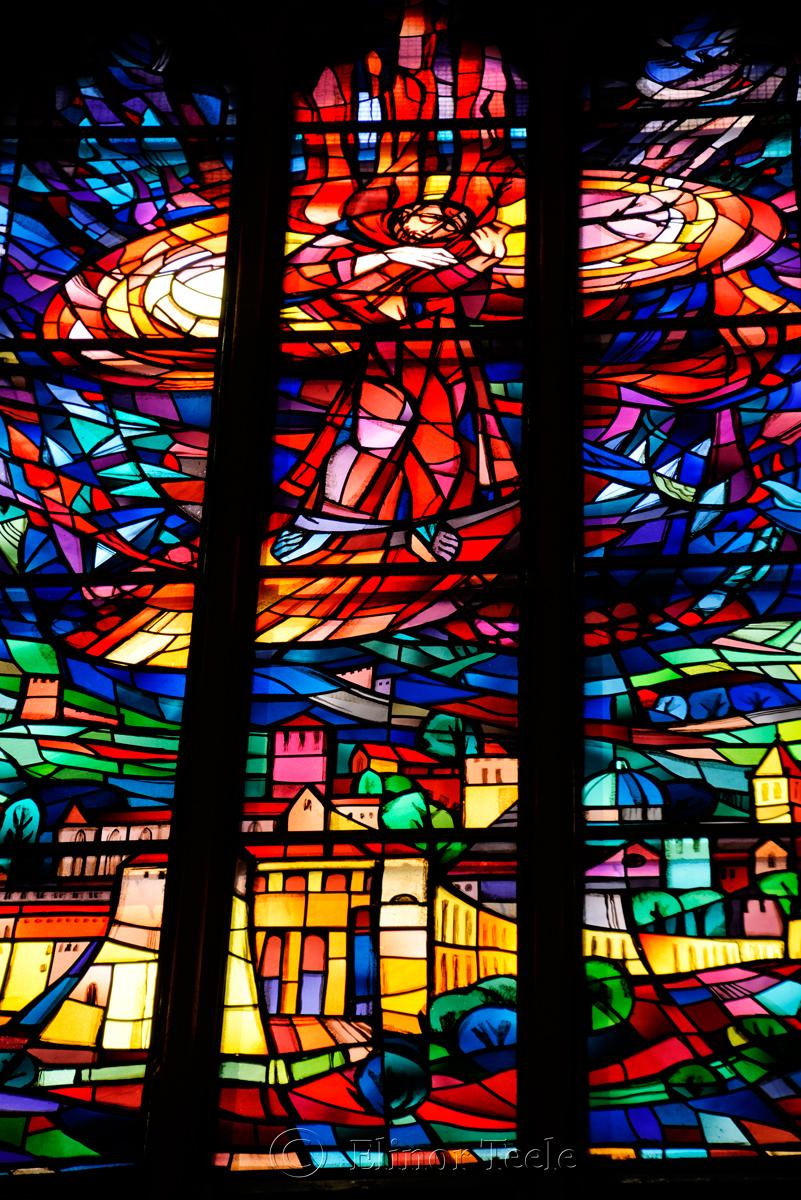 Stained Glass, Franziskanerkirche, Graz, Austria 1