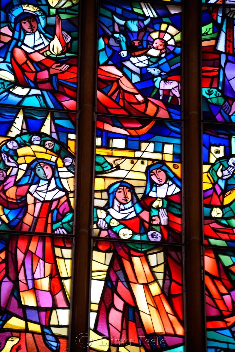 Stained Glass, Franziskanerkirche, Graz, Austria 2