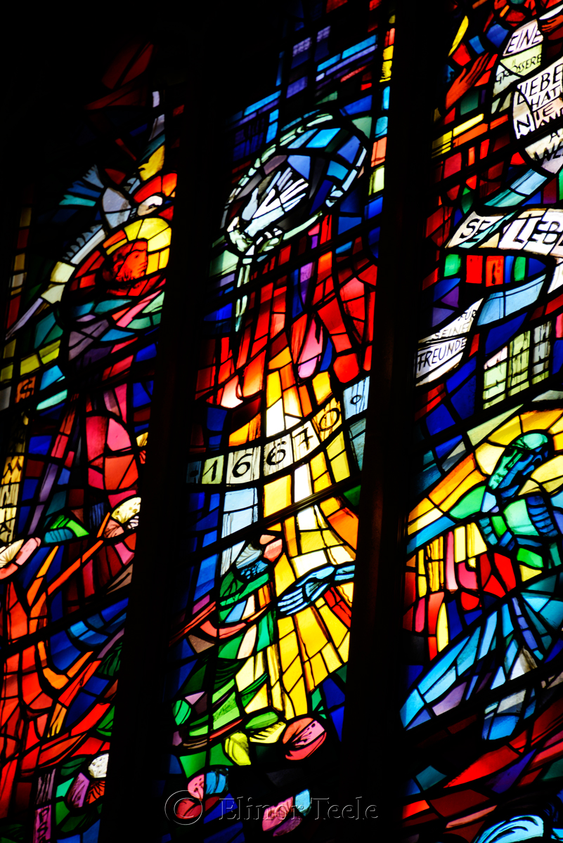 Stained Glass, Franziskanerkirche, Graz, Austria 3