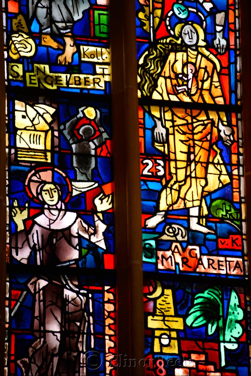 Stained Glass, Franziskanerkirche, Graz, Austria 4