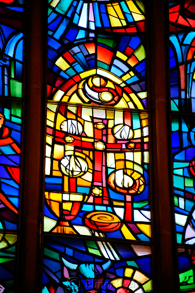 Stained Glass, Franziskanerkirche, Graz, Austria 5