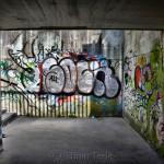 Underpass, Graffiti, Graz, Austria