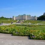 Garden & Upper Belvedere, Vienna, Austria