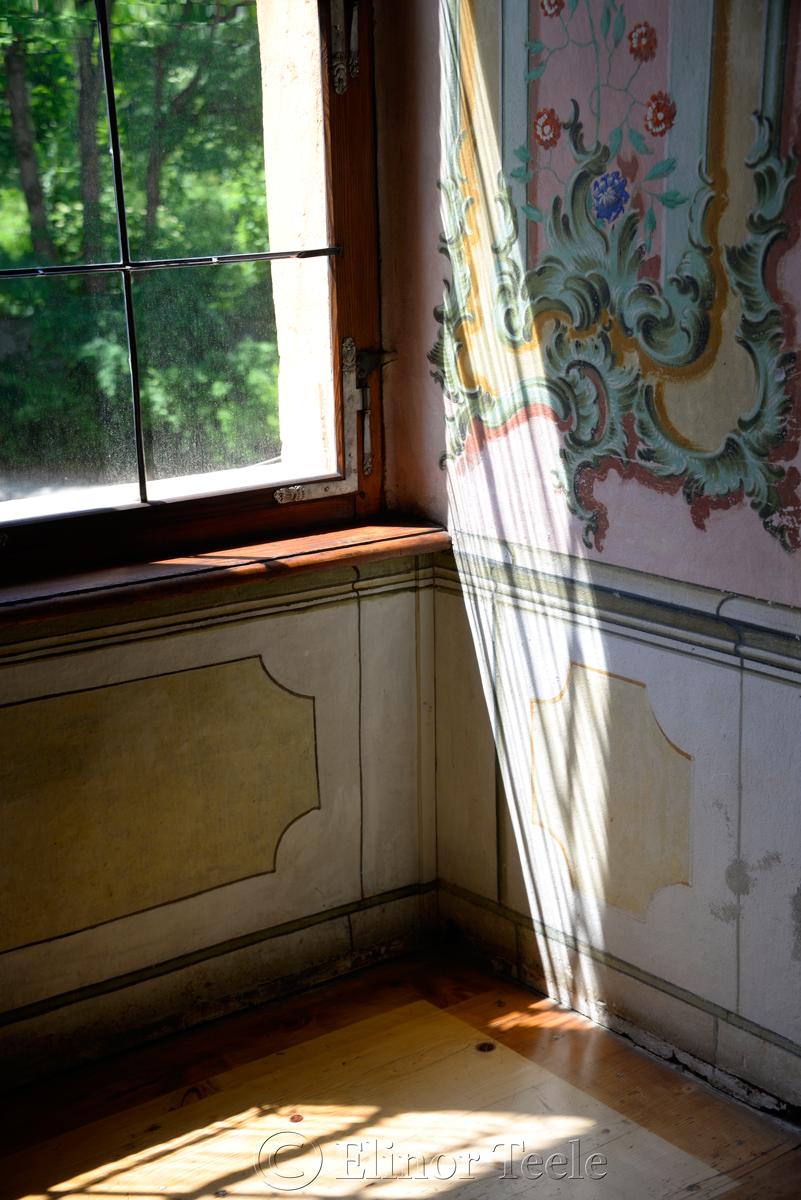State Room Window, Schloss Eggenberg, Graz, Austria