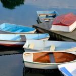 Rowboats, Annisquam Harbor, Annisquam MA