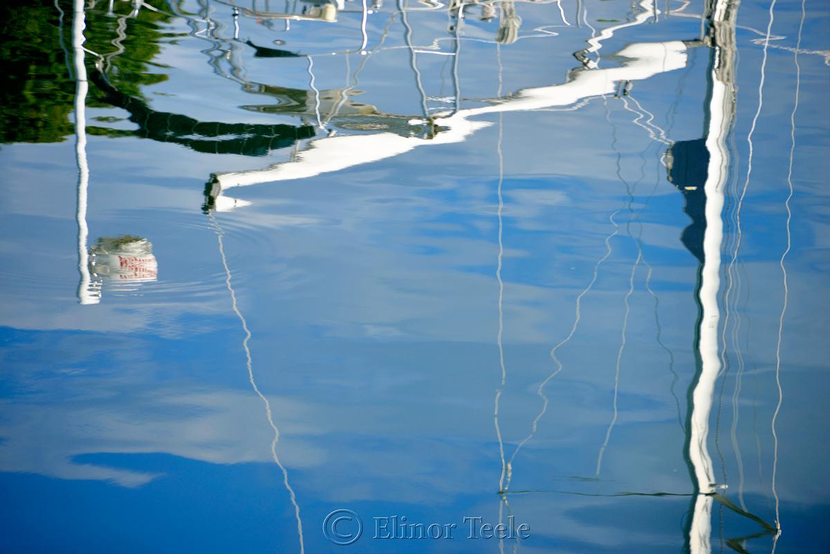 Sailboat Reflections 1