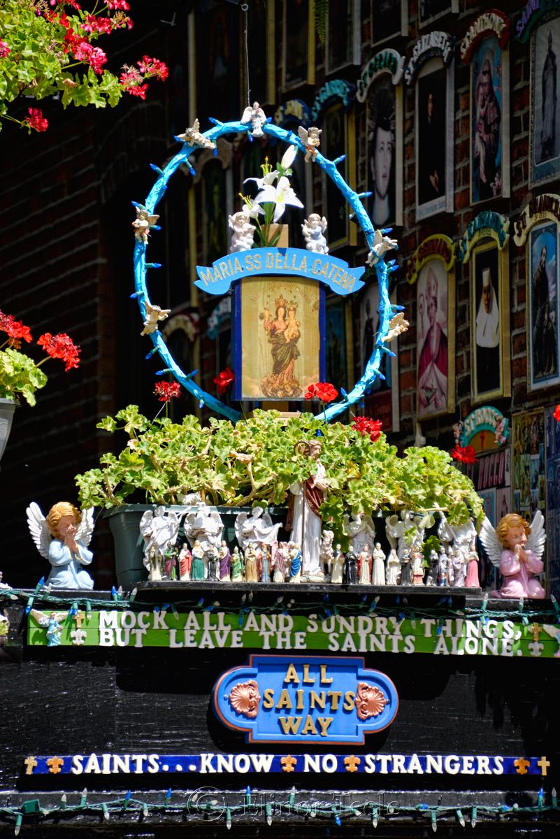 Saints Know No Strangers, North End, Boston MA