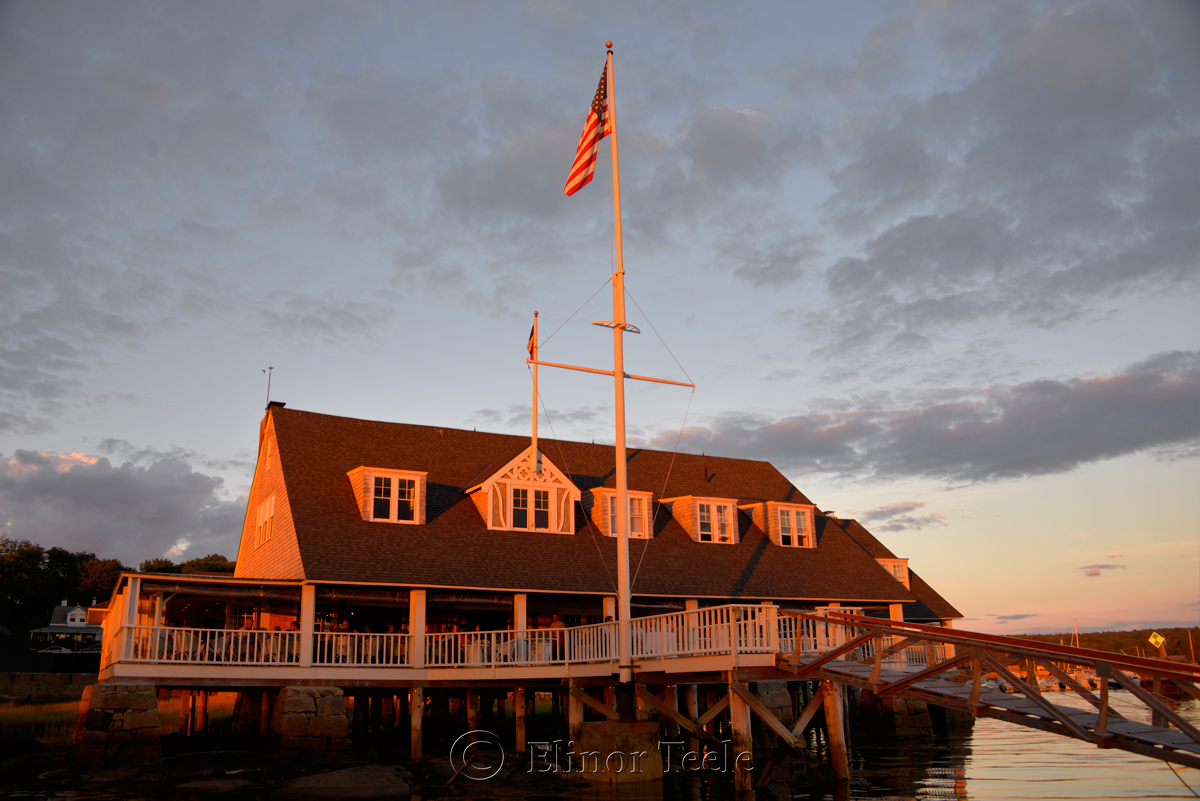 Sunset, Annisquam Yacht Club
