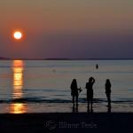 Three Graces, Sunset