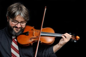 Violinist in Color