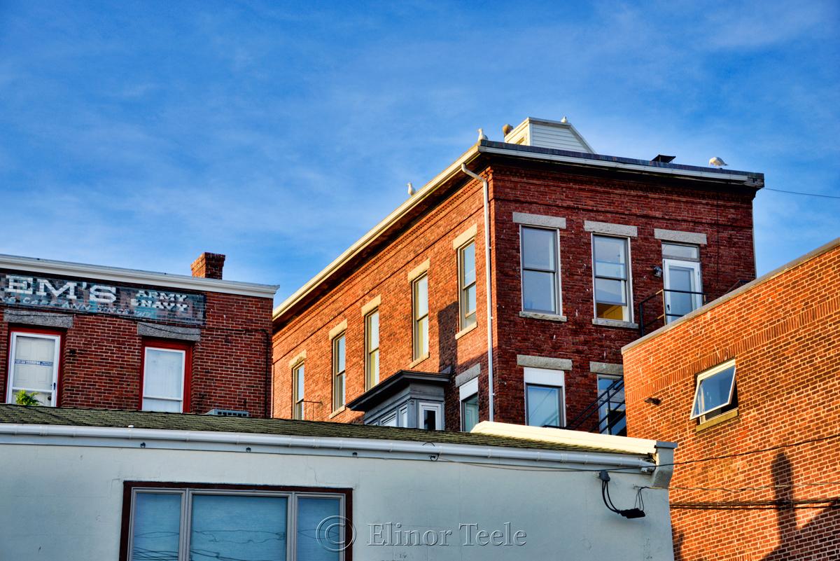 Brick Buildings, Gloucester MA