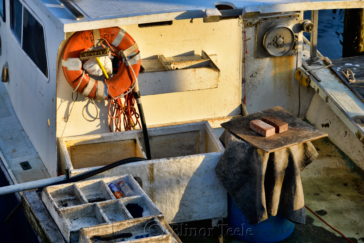Fishing Boat at Sundown, Gloucester MA 1