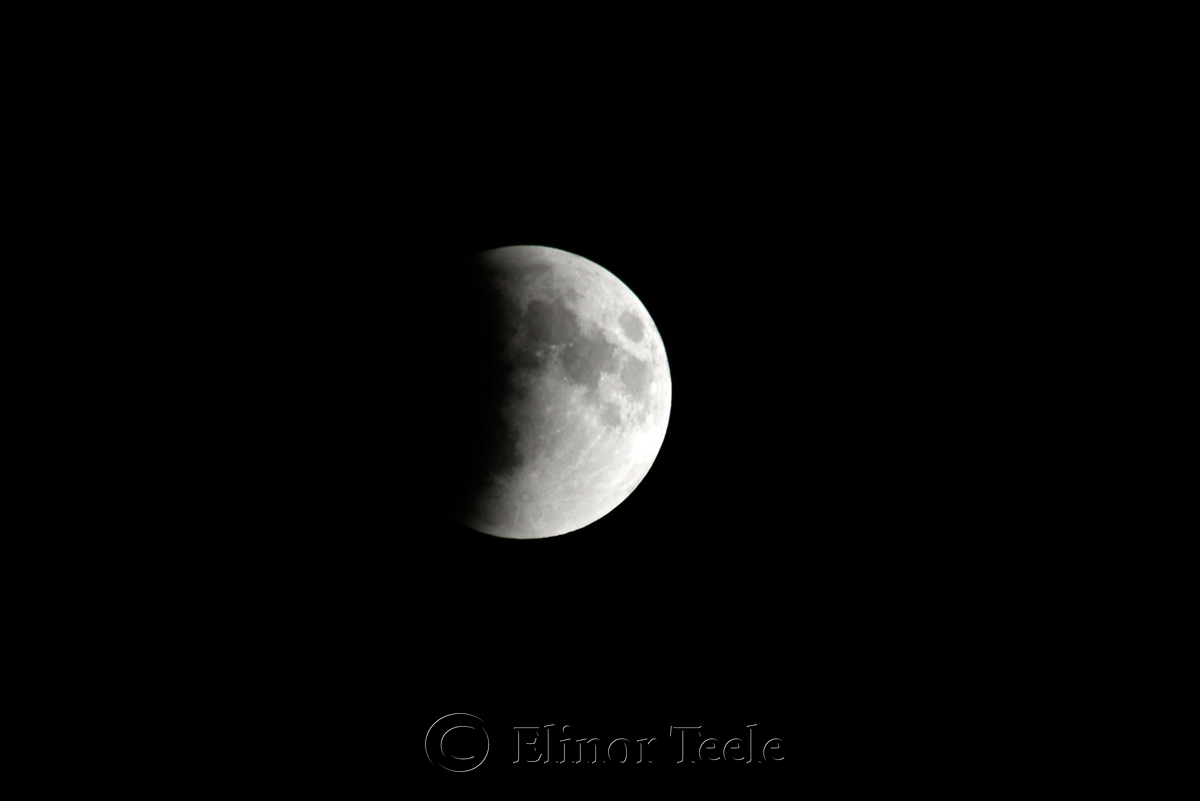 Lunar Eclipse, September 2015 1