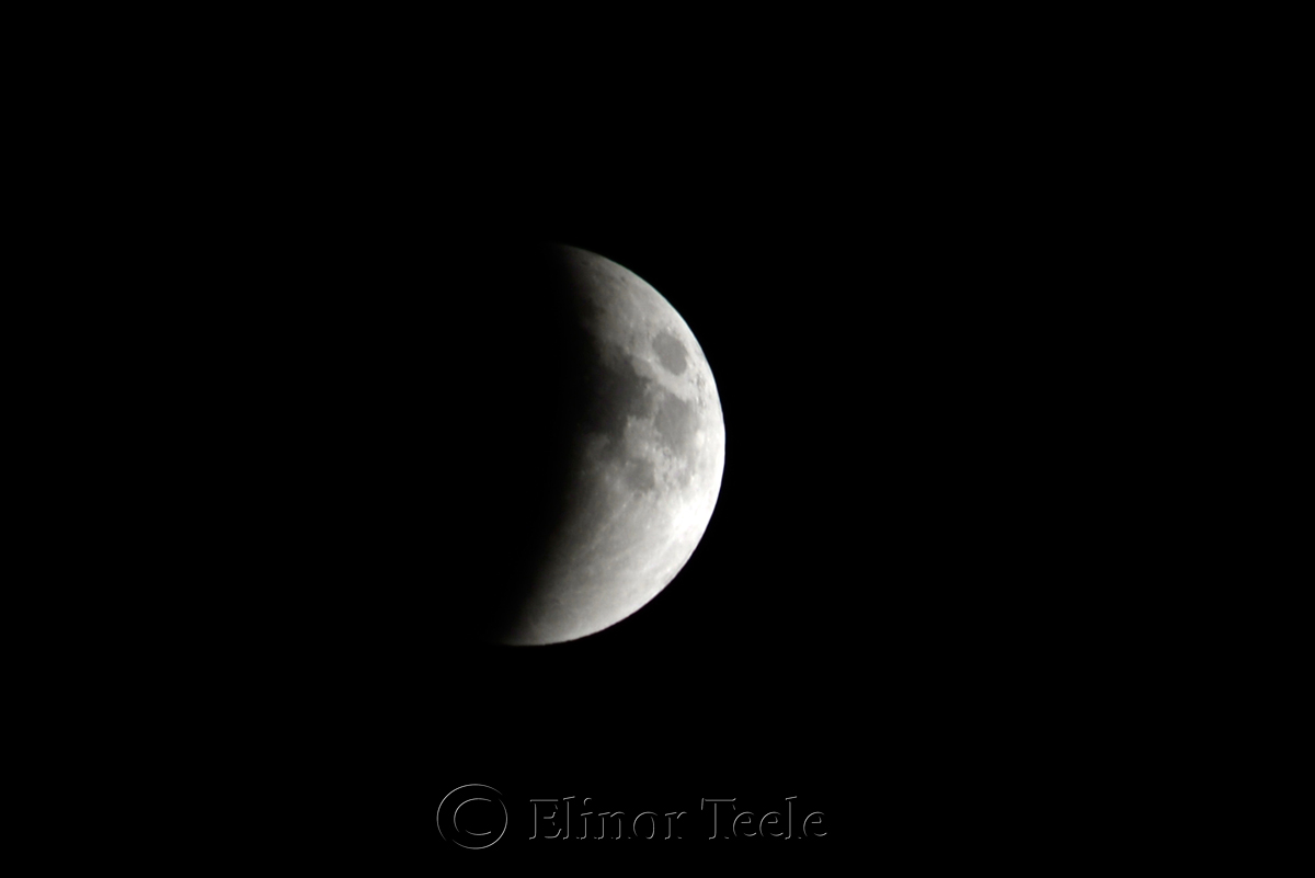 Lunar Eclipse, September 2015 2