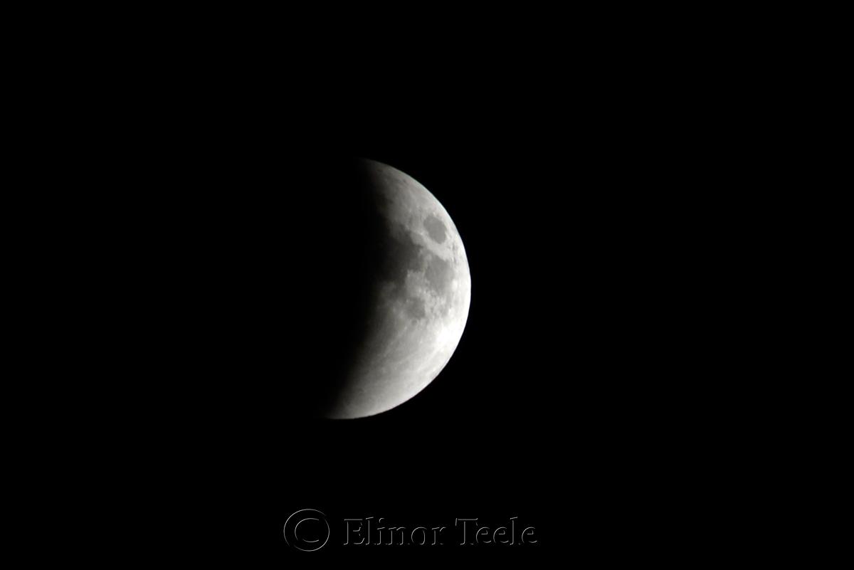 Lunar Eclipse, September 2015 2