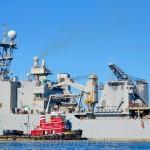 USS Fort McHenry, Gloucester Schooner Festival 4