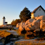 Annisquam Lighthouse in October 1