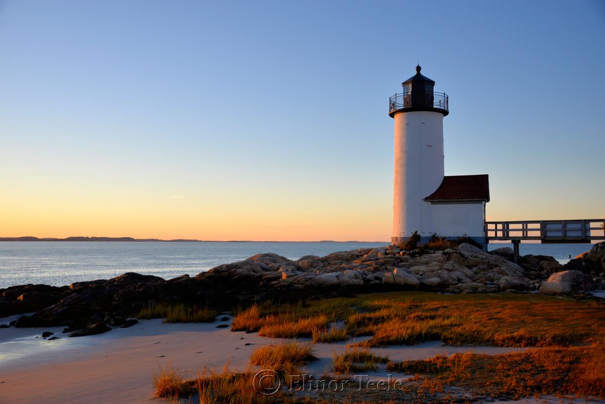 Annisquam Lighthouse in October 2