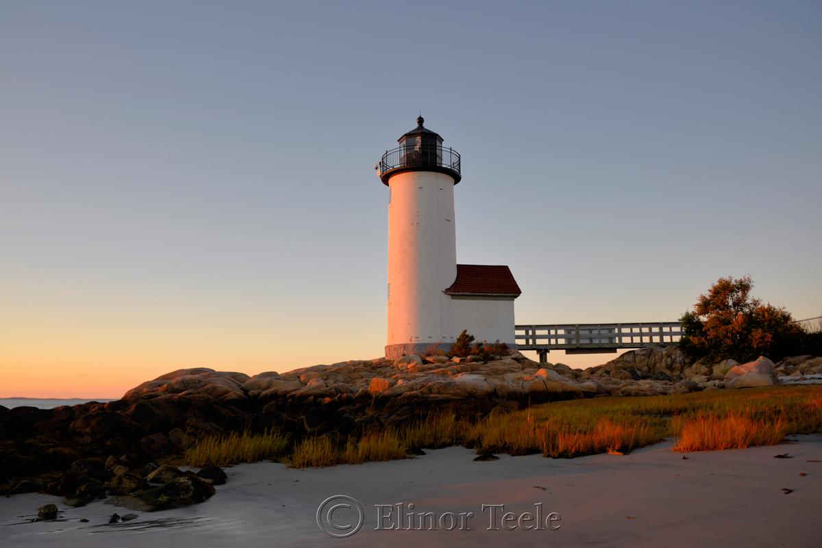 Annisquam Lighthouse in October 3