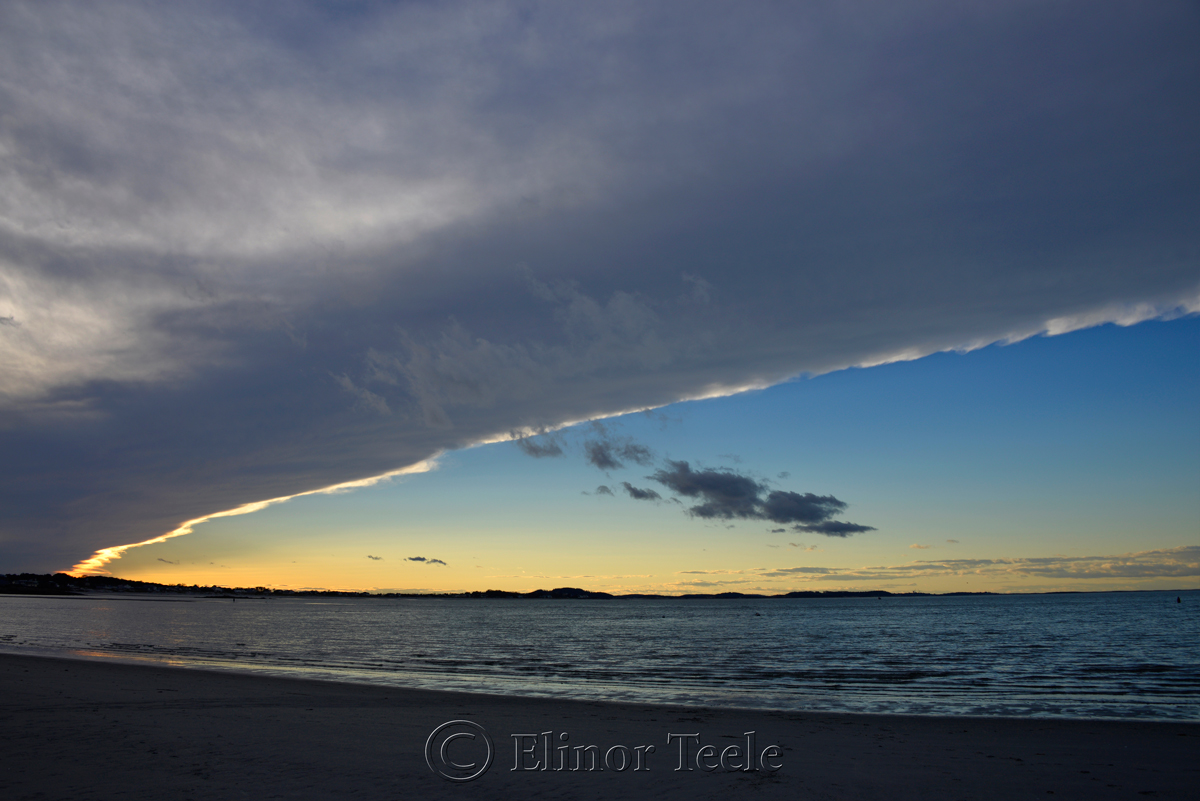 Cloud Arc Over Ipswich Bay
