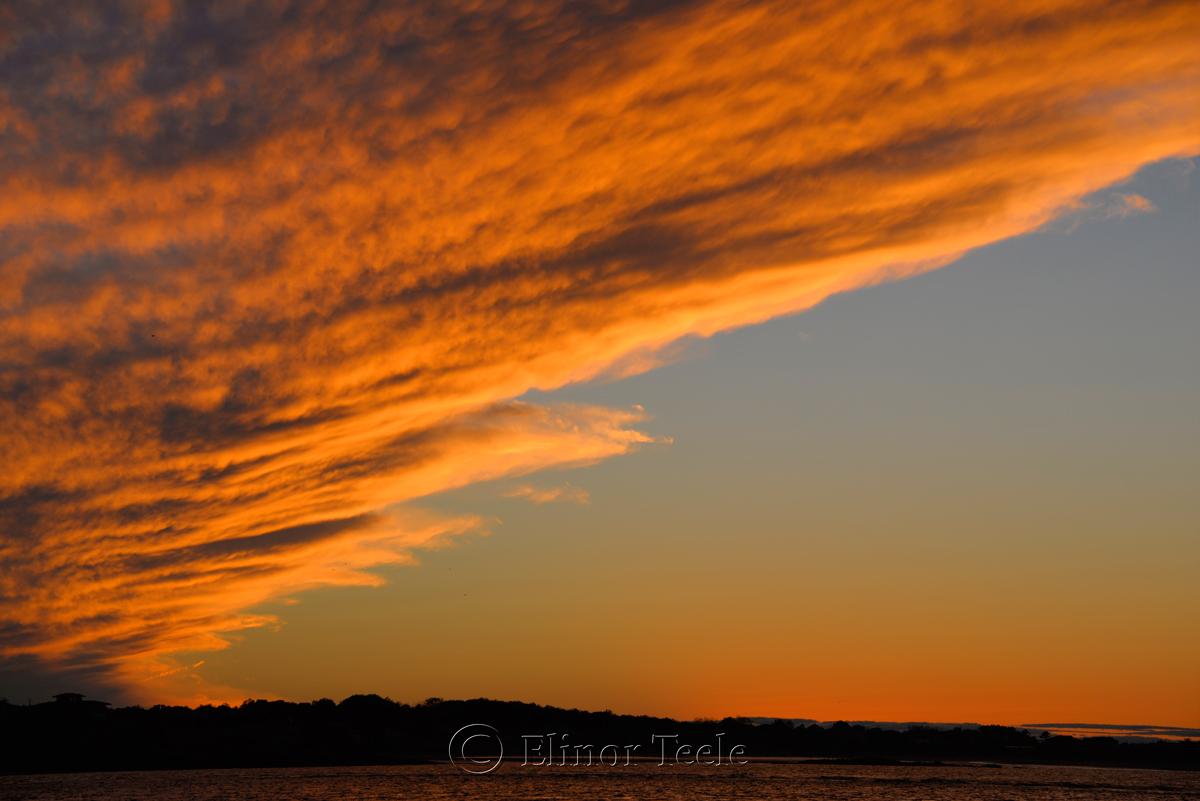 Cloud Arc at Sunset 2