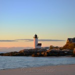 Lighthouse - Pastel Sunset